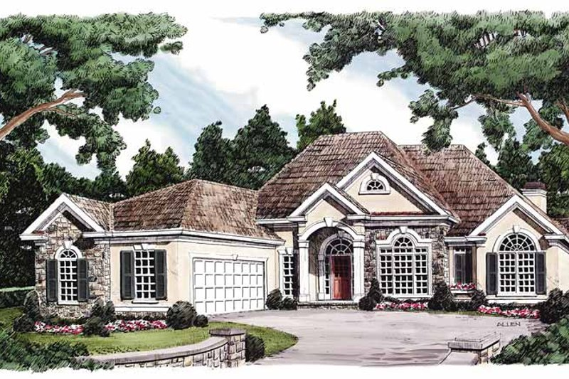 House Plan Design - Country Exterior - Front Elevation Plan #927-116