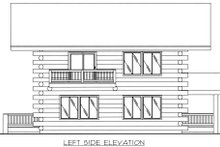 Log Exterior - Other Elevation Plan #117-552