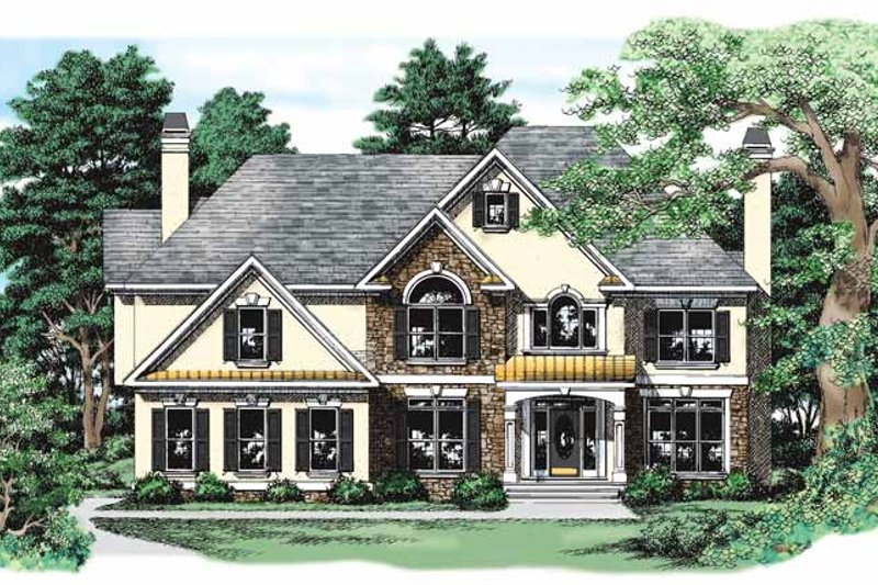 Country Exterior - Front Elevation Plan #927-269 - Houseplans.com