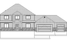 Architectural House Design - Traditional Exterior - Front Elevation Plan #1060-8