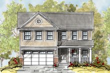 Home Plan - Country Exterior - Front Elevation Plan #20-2149