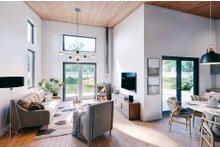 Dream House Plan - Contemporary Interior - Family Room Plan #924-12
