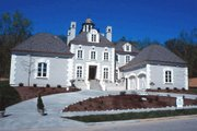 European Style House Plan - 4 Beds 3.5 Baths 3335 Sq/Ft Plan #20-1117 Exterior - Other Elevation