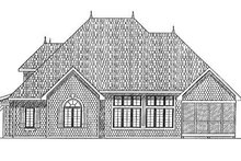 Dream House Plan - Traditional Exterior - Rear Elevation Plan #70-382