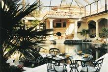 House Design - Mediterranean Exterior - Rear Elevation Plan #930-54