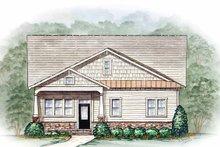 House Plan Design - Craftsman Exterior - Front Elevation Plan #54-212
