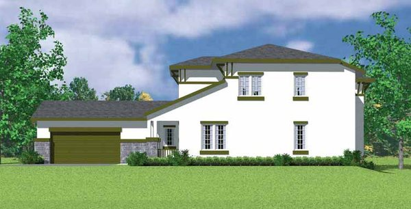 House Blueprint - Prairie Floor Plan - Other Floor Plan #72-1120