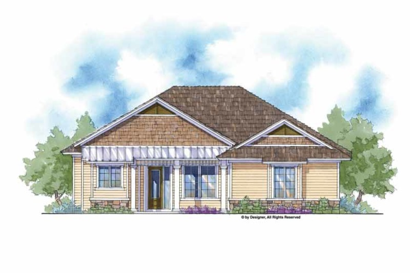 Country Exterior - Front Elevation Plan #938-4 - Houseplans.com