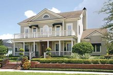 Home Plan - Colonial Exterior - Front Elevation Plan #1019-4