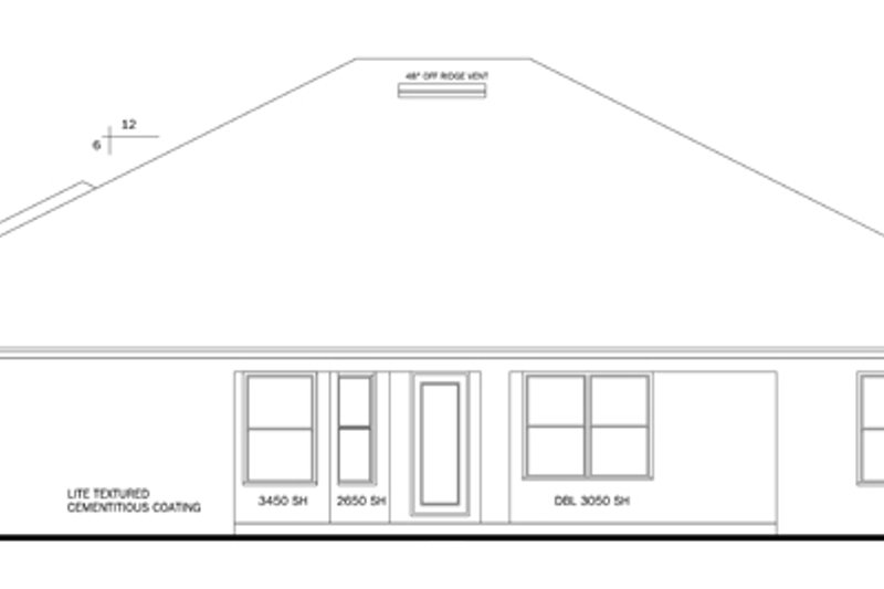 Craftsman Exterior - Rear Elevation Plan #1058-51 - Houseplans.com