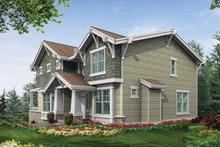 Craftsman Exterior - Rear Elevation Plan #132-311