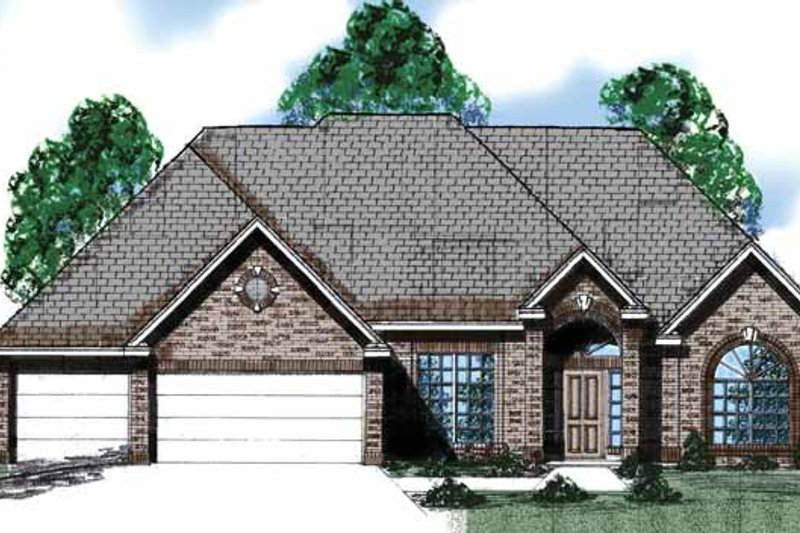 Country Exterior - Front Elevation Plan #52-279