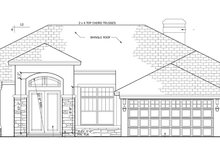Craftsman Exterior - Front Elevation Plan #1058-47