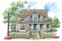 Home Plan - Victorian Exterior - Front Elevation Plan #930-181