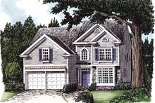 Home Plan - Colonial Exterior - Front Elevation Plan #927-628