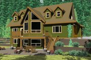 Craftsman Style House Plan - 3 Beds 2.5 Baths 2113 Sq/Ft Plan #126-144 Photo