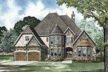 Architectural House Design - European Exterior - Front Elevation Plan #17-3278