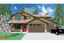 Traditional Exterior - Front Elevation Plan #509-344