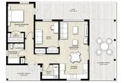 Modern Style House Plan - 2 Beds 1 Baths 880 Sq/Ft Plan #924-3