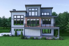 Contemporary Exterior - Rear Elevation Plan #1070-45