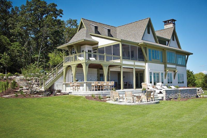 Craftsman Exterior - Rear Elevation Plan #928-252 - Houseplans.com