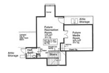 European Floor Plan - Other Floor Plan Plan #310-1264