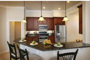 Mediterranean Style House Plan - 3 Beds 2.5 Baths 2287 Sq/Ft Plan #938-20 Interior - Kitchen