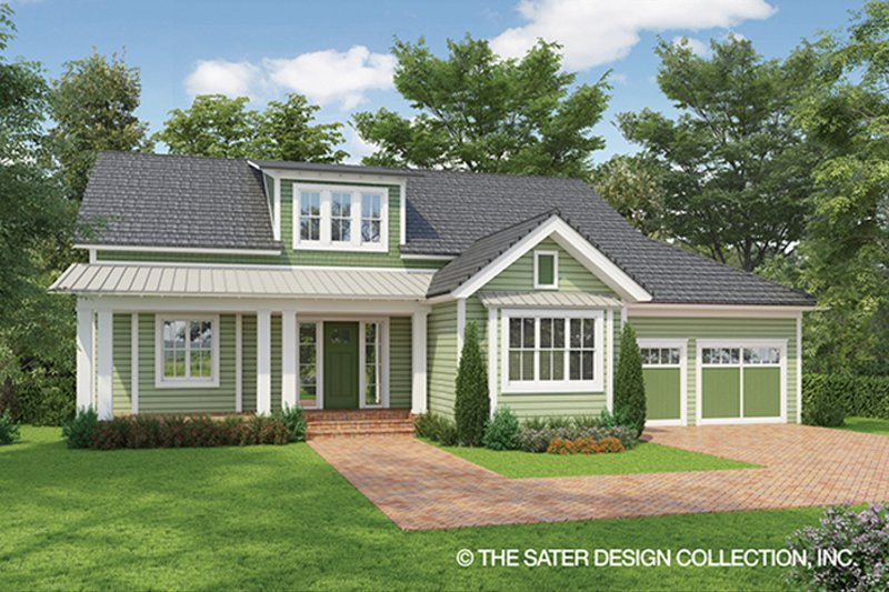 Country Exterior - Front Elevation Plan #930-469 - Houseplans.com