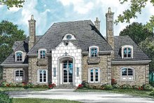 Country Exterior - Front Elevation Plan #453-300