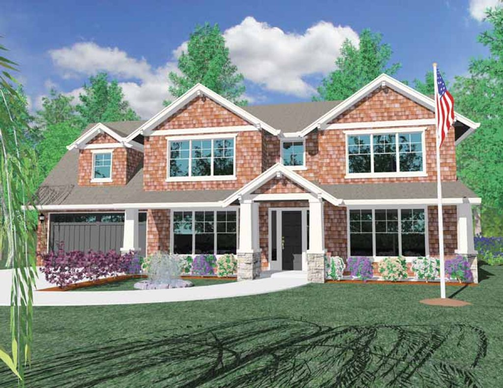 Traditional style house plan 4 beds 3 baths 3170 sq ft for Www eplans com