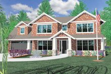 Traditional Exterior - Front Elevation Plan #509-367