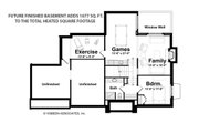 Classical Style House Plan - 3 Beds 3.5 Baths 3281 Sq/Ft Plan #928-240 Floor Plan - Other Floor Plan