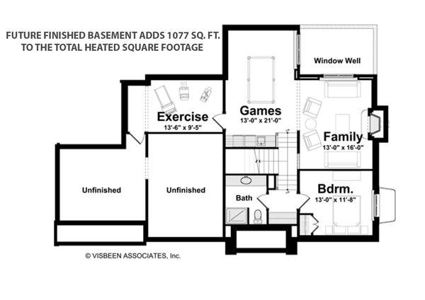 House Plan Design - Future Finished Basement