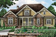 Dream House Plan - European Exterior - Front Elevation Plan #927-961