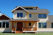 Country Style House Plan - 3 Beds 2.5 Baths 3016 Sq/Ft Plan #895-10 Exterior - Front Elevation