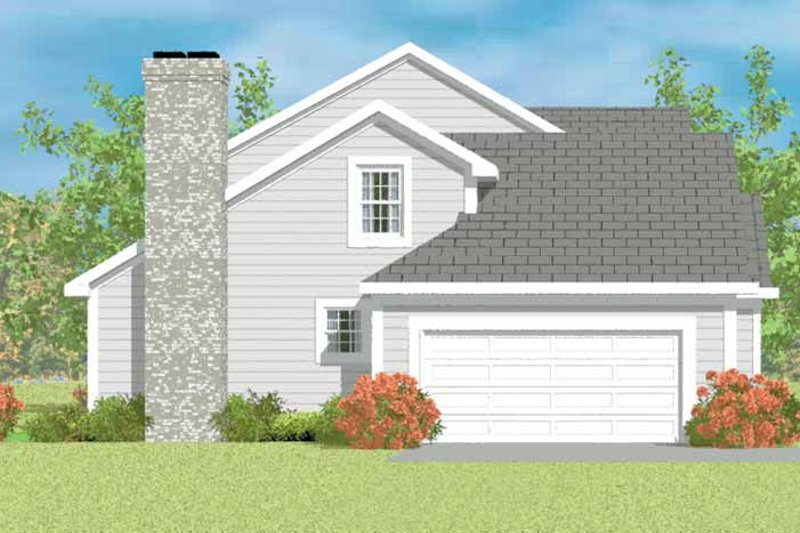 House Blueprint - Traditional Exterior - Other Elevation Plan #72-1076