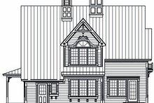 Home Plan - European Exterior - Rear Elevation Plan #23-819