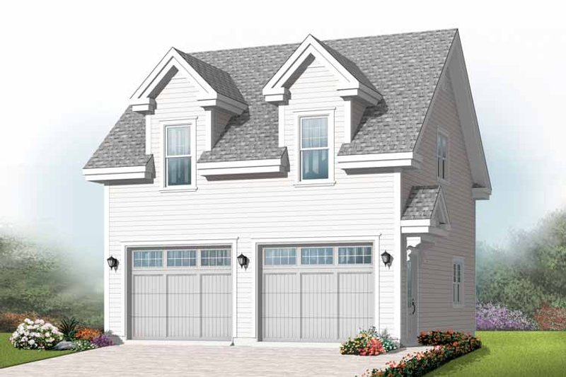 Exterior - Front Elevation Plan #23-2410