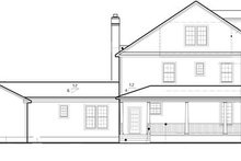 House Plan Design - Colonial Exterior - Other Elevation Plan #1053-56