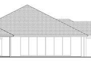 Mediterranean Style House Plan - 3 Beds 4.5 Baths 3394 Sq/Ft Plan #930-457 Exterior - Rear Elevation