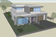 Modern Style House Plan - 3 Beds 2.5 Baths 3041 Sq/Ft Plan #496-26