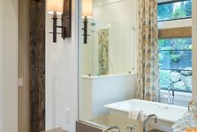 House Plan Design - Master Bathroom - 4900 square foot Colonial home