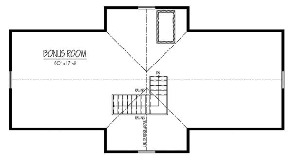 Country Floor Plan - Other Floor Plan Plan #1061-34