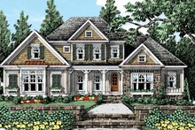 House Plan Design - Country Exterior - Front Elevation Plan #927-429