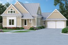 Dream House Plan - Country Exterior - Front Elevation Plan #45-399