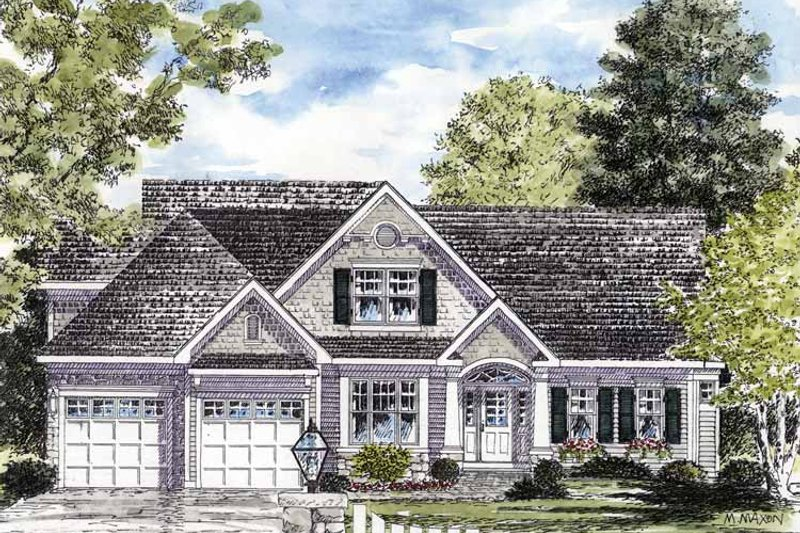 Craftsman Exterior - Front Elevation Plan #316-272