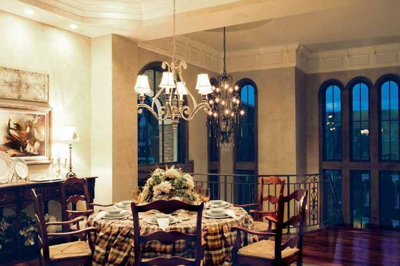 Mediterranean Interior - Dining Room Plan #46-758 - Houseplans.com