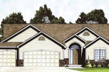 Dream House Plan - Traditional Exterior - Front Elevation Plan #58-230
