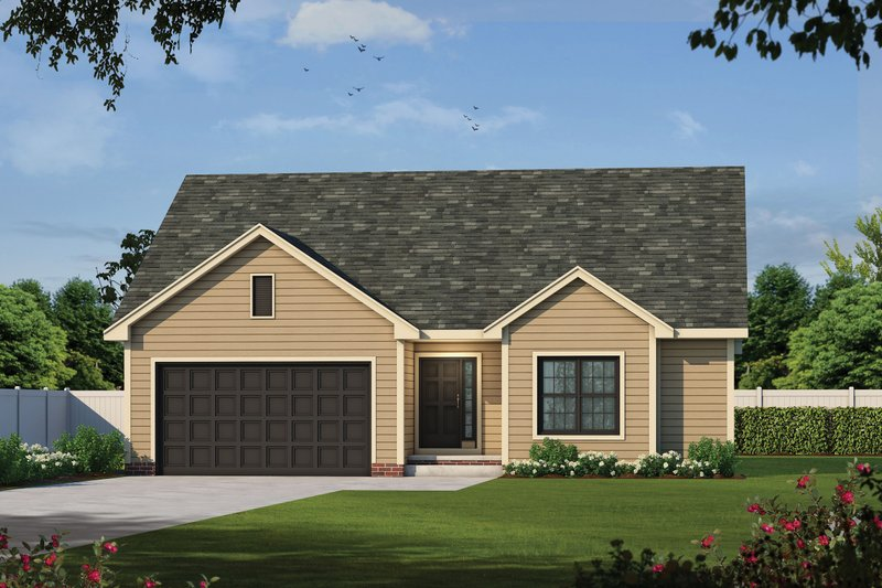 Dream House Plan - Traditional Exterior - Front Elevation Plan #20-2452