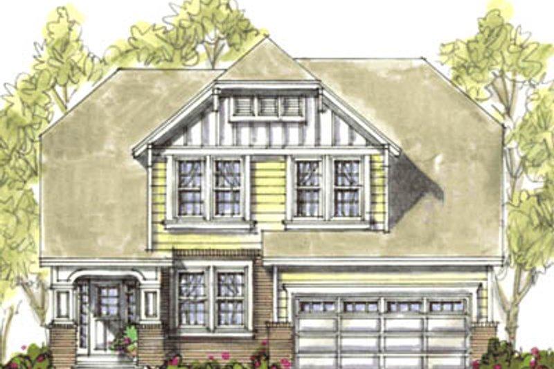 Bungalow Exterior - Front Elevation Plan #20-1230 - Houseplans.com